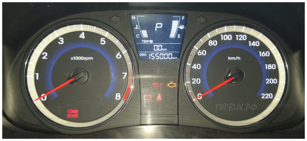 Hyundai Solaris корректировка пробега через OBD2